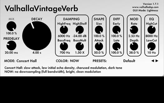 Best Reverb Plug | Valhalla DSP Plugins