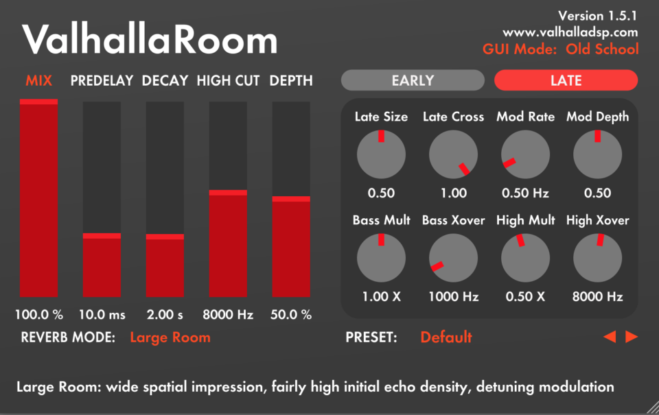 ValhallaRoom 1 5 1 Released for OSX and Windows  Electric