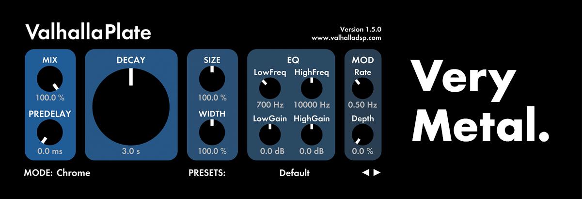 Digital Reverb & Delay Plugins | Valhalla DSP Plugins
