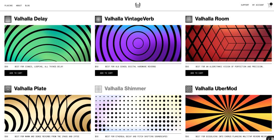 2020 Valhalla Website